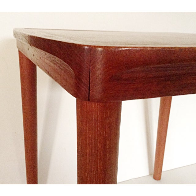 Mid-Century Side Table With Stool - Image 4 of 5