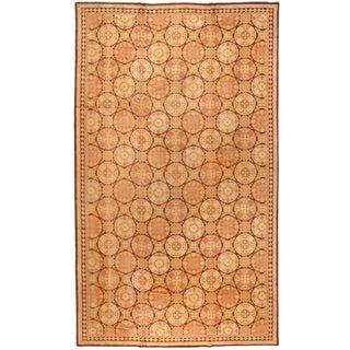 Antique Oversize English Pile Carpet
