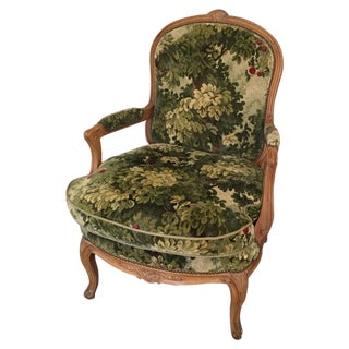Antique Bergere Chair