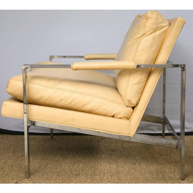 Milo Baughman for Thayer Coggin Club Chairs, Pair - Image 8 of 10