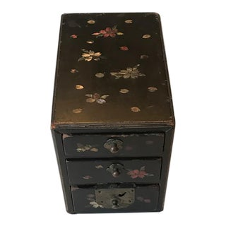 Antique Chinese Chinoiserie Inlay Box