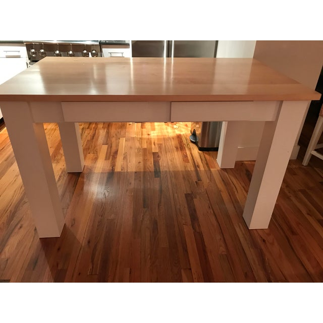 Custom Maple Island Table - Image 2 of 7