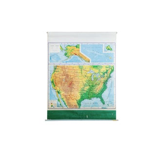 Rand McNally Vintage United States Map
