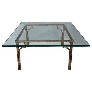 Gilt & Glass Coffee Table