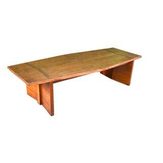 Mid-Century Lane Walnut Coffee Table