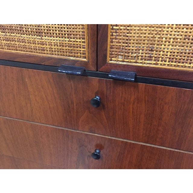 Image of Knoll Walnut Tall Armoire Dresser