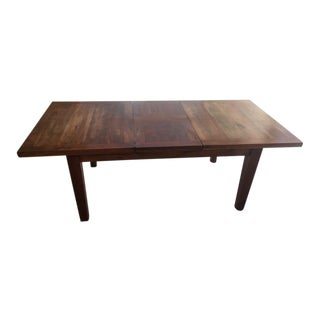 Craftman Carved Indian Rosewood Dining Table