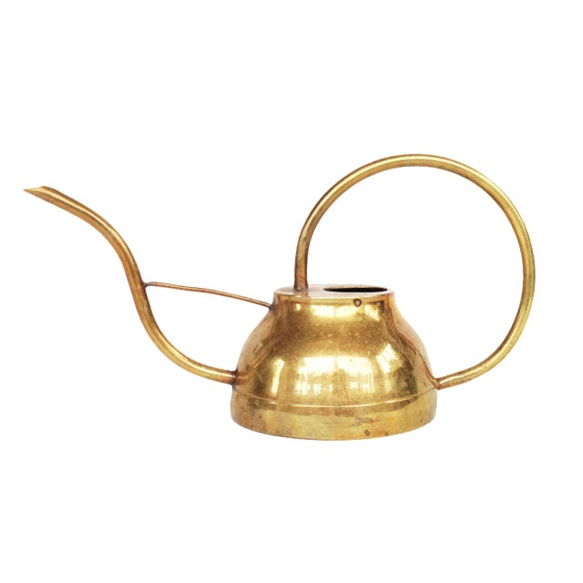 Image of Vintage Brass Watering Can