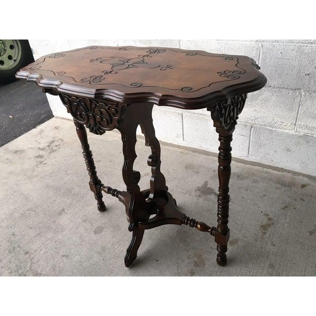 Antique Spindle Leg Parlor Table Chairish