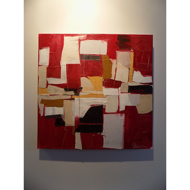 "Image of Susan Washington ""Alphabet City"" Painting"