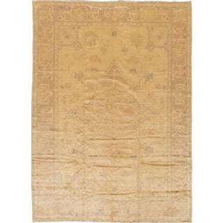 "Apadana Antique Turkish Oushak Rug - 8'1"" x 11'1"""