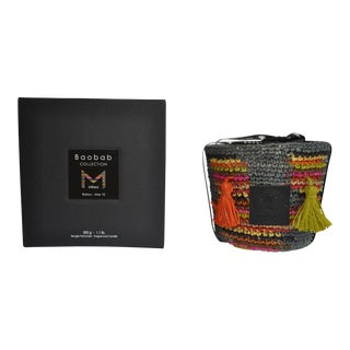 Baobab Collection Babou Candle Holder With Scented Max 10 Candle