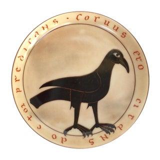 Black Bird Ashtray/Trinket Dish
