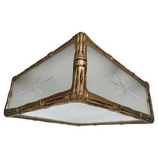 1950s Lightolier Ceiling Light