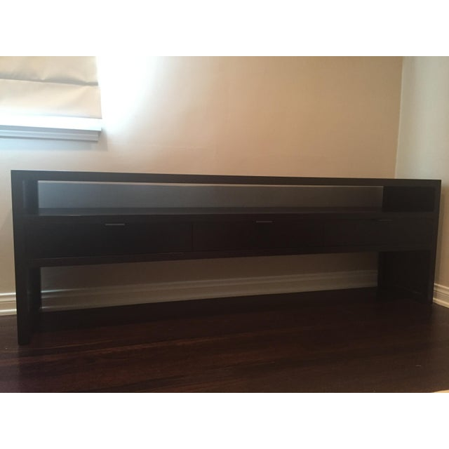 Image of Room & Board Dark Wood Media Console