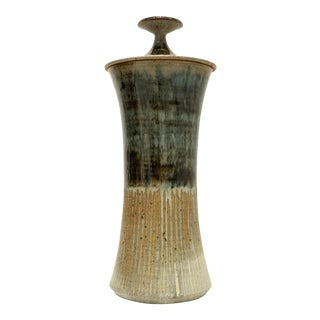 Tall Lidded Vessel by Gerry Williams