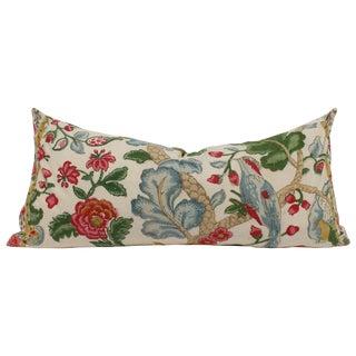 Block Print Lumbar Pillow