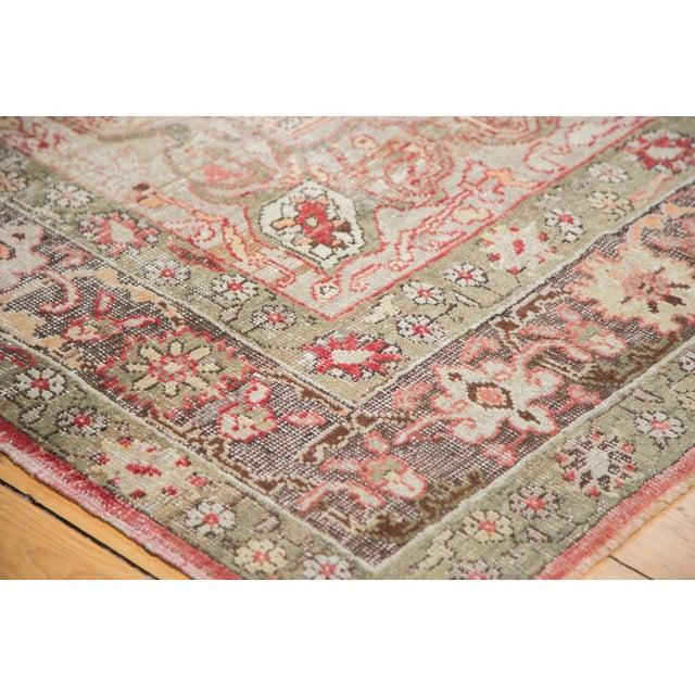 "Distressed Oushak Carpet - 7'6"" X 12'6"" - Image 4 of 10"