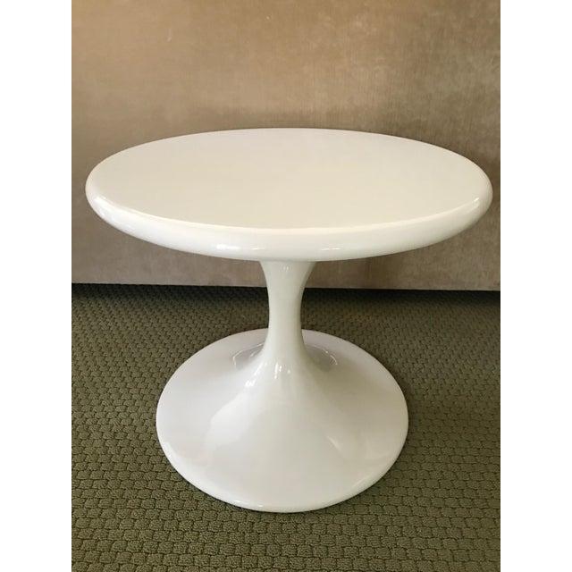 Saarinen Style Tulip Side Table - Image 2 of 8