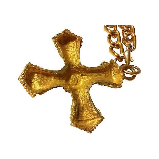 Image of Byzantine-Style Cross Necklace