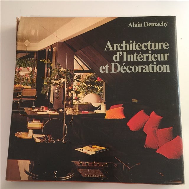 Architecture d 39 interieur et decoration demachy chairish - Livre architecture d interieur ...
