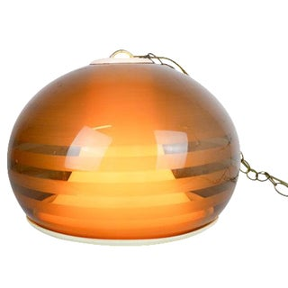 Mid Century Space Age Globe Pendant Lamp