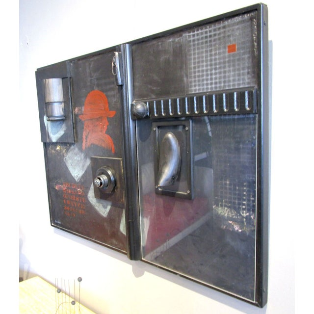 Mixed Media Painting/Sculpture - Image 2 of 6
