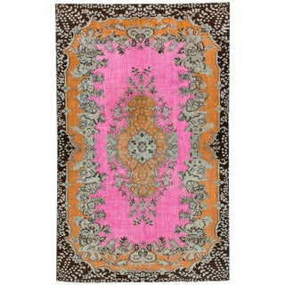 "Apadana Turkish Revival Overdyed Rug - 5'7"" X 9'"