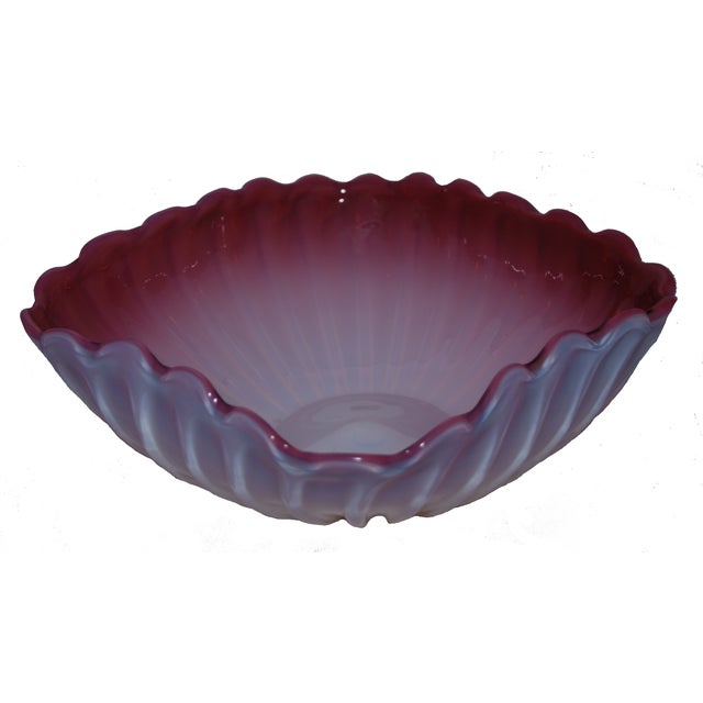 Image of Murano Glass Square Bowl