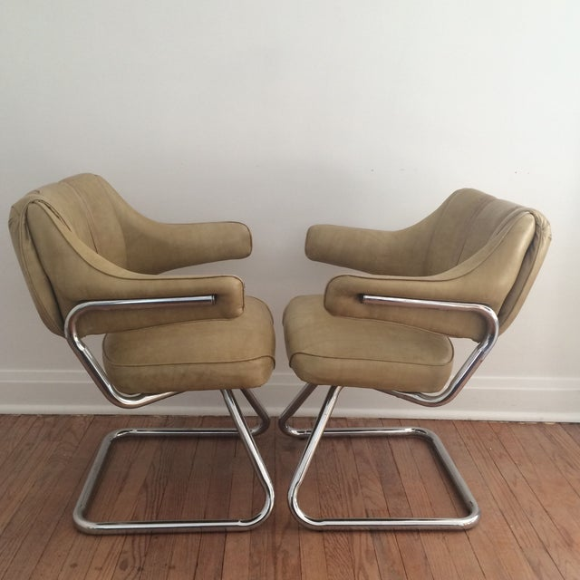 Atomic Era Howell Chairs - A Pair - Image 4 of 8