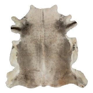 """European Gray Cowhide Rug - 5'3"""" x 6'0"""""""