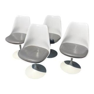 Knoll Saarinen Tulip Armless Chairs - Set of 4