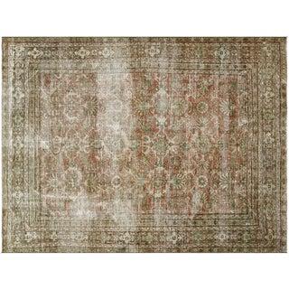 "Vintage Persian Mahal Rug -- 8'3"" x 11'"
