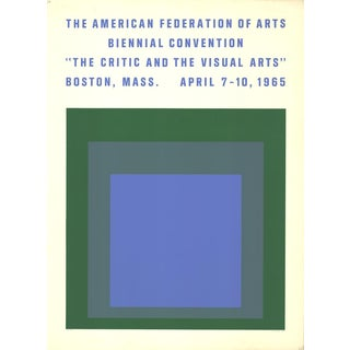 1965 'The American Federation of Arts Biennial Convention' Serigraph