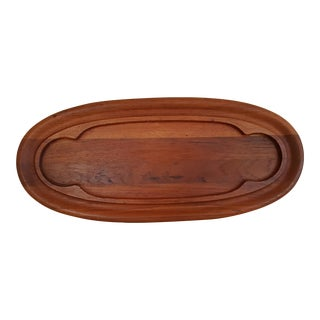 Dansk Oval Teak Serving Platter