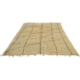 """Moroccan Geometric Wool Rug - 10'10"""" x 13'"""