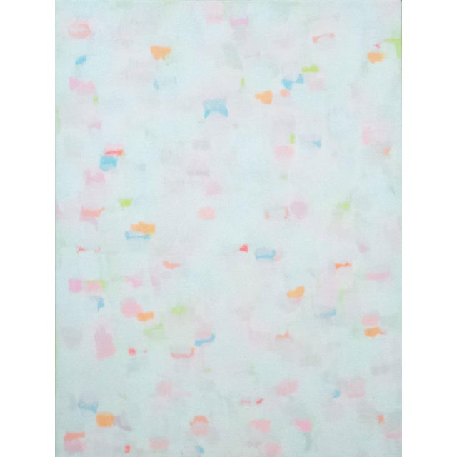 "Susie Kate ""Confetti No.4"" Abstract Painting - Image 1 of 2"