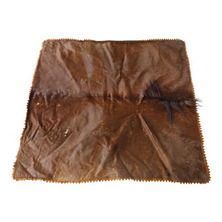 1950's Horse Hide Carriage Blanket