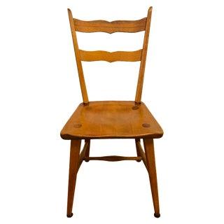 Mid Century Cushman Birch Solid Wood Chair