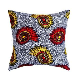 Sea Shell Wax Print Pillow - Pair