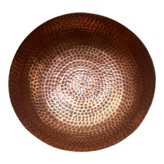 Roost Hammered Copper and Enamel Bowl