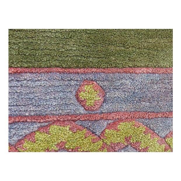 Nepalese Wool Rug- 6' x 9' - Image 8 of 11
