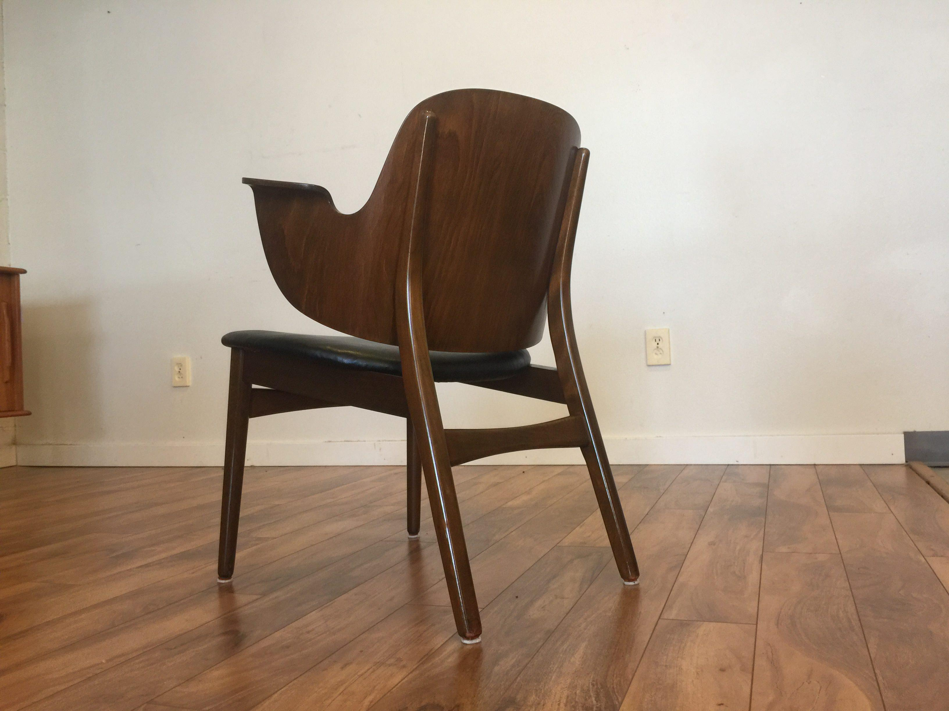 Hans Olsen For Bramin Møbler Bentwood Chair   Image 5 Of 11