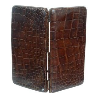 Genuine Crocodile Skin Card Case
