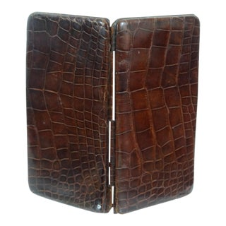 Genuine Crocodile Skin Card Case