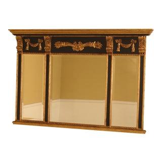 Labarge Gold & Black Regency Mirror