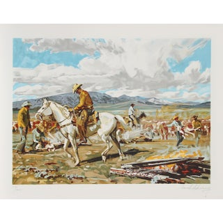 "Conrad Schwiering, ""Daily Roper,"" Lithograph"
