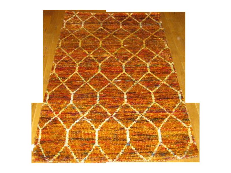 indian sari silk rug 3 x 5 chairish