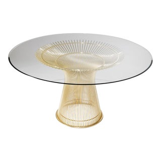 Warren Platner 18-Karat Gold-Plated Dining Table