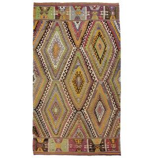 Vintage Barak Kilim | 5'2 x 8'9 Flatweave